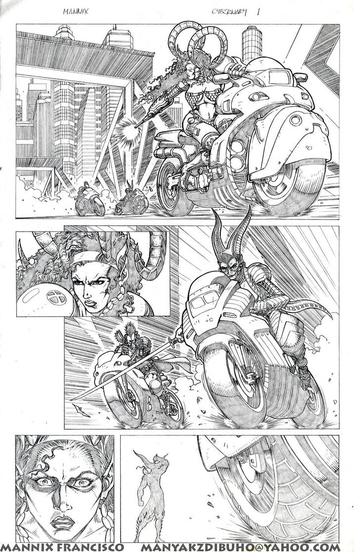 Cybernary Sample Pages1 by MannixFrancisco