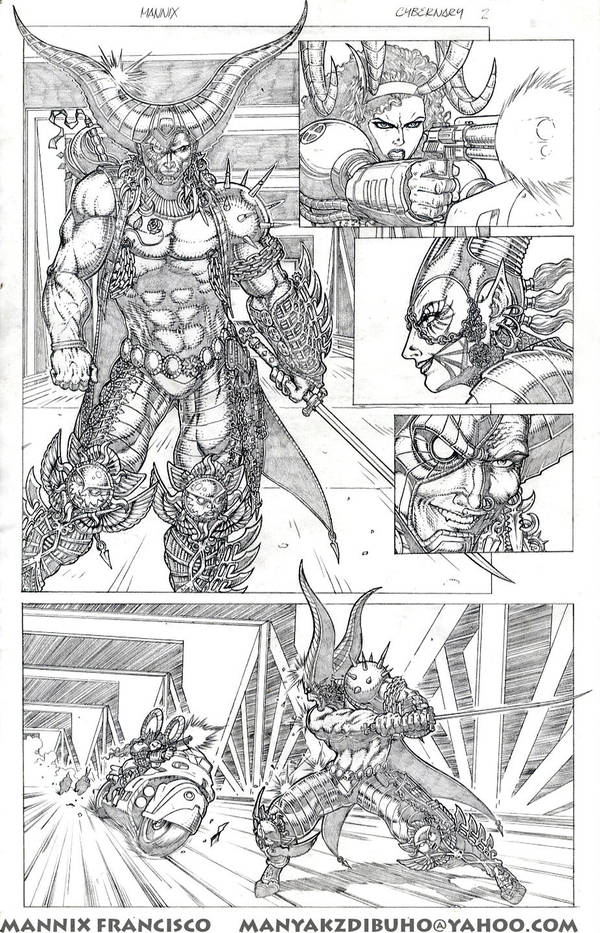 Cybernary Sample Pages2 by MannixFrancisco