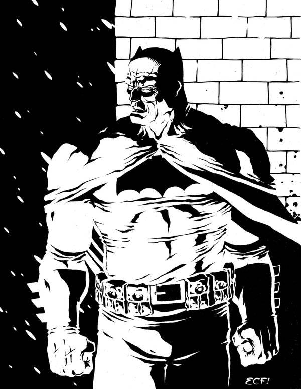 Batman by MannixFrancisco