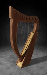 Warcraft Harp (Blizzard, make one already please) by Belvane