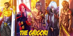 The Grigori Men by TheGrigoriAnime