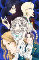 Tigers and Tribulations by Pinceau-Arc-en-Ciel