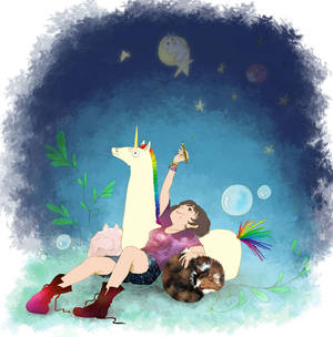 I Dream by Pinceau-Arc-en-Ciel
