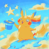 90 Fabulous magical stars - Palette Challenge by Pinceau-Arc-en-Ciel