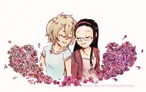 Blossoming flowers - HnB by Pinceau-Arc-en-Ciel