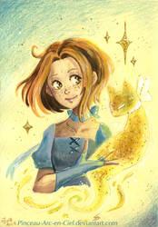 Sparkly magic by Pinceau-Arc-en-Ciel