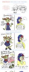 Double Cute Zombies OC meme by Pinceau-Arc-en-Ciel