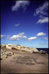 Whitby Rocks by xxbcxx