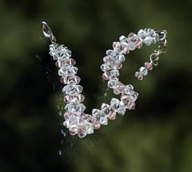 Princess Swarovski Bracelet by xxbcxx