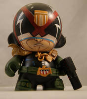 Judge Dredd Munny by RocketboyCustoms