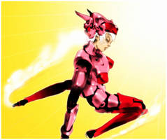 rollerball girl by genocidalpenguin