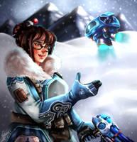 Overwatch: Mei by Sarielda