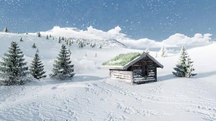 Frosty Hut by Fineline321