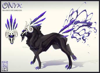 Onyx the ora of Darkness by kilara