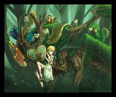 Wayfarer's Entourage by kilara