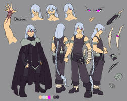 Drej character page by kilara