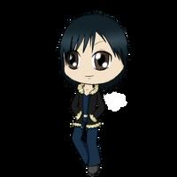 animelover5ful's Gift chibi Izaya by Taiyo-DeFurei