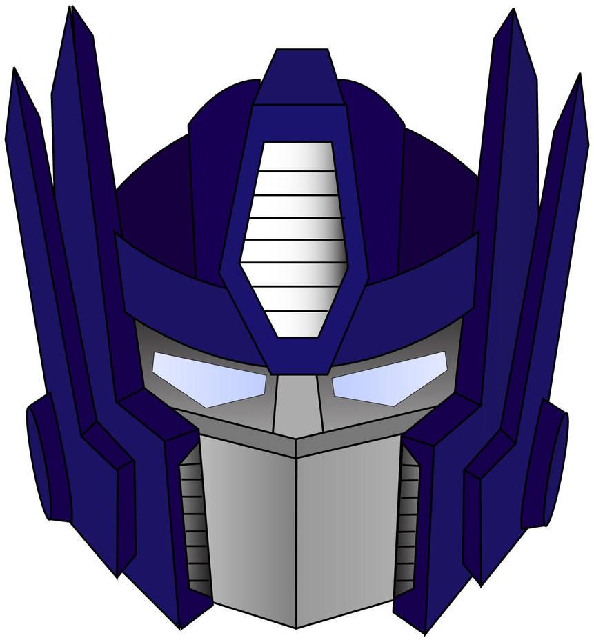 Optimus Prime's Head by Tempura-Sushi on DeviantArt  Optimus Prime&#...