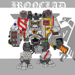 WH 40k Ironclad Dreadnought by johnlincoln2