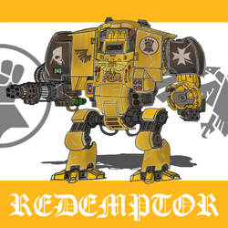 WH 40k Imperial Fists Redemptor by johnlincoln2