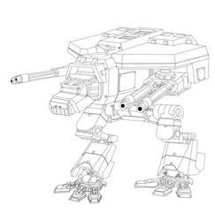 Warhound Outlines by johnlincoln2