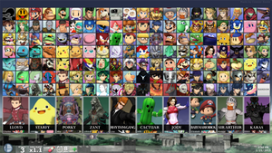 SUPER SMASH BROS. FOR PC - DLC Fighters (By Debut) by ConnorRentz