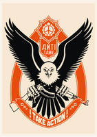 eagle-take action by racuntikus