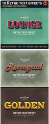 10 Retro Text Effect v.3 by artgusart