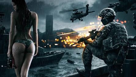 Battlefield 4 Wallpaper - Good day for a dive by das-joe