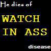 He dies o watch in ass disease by danetenshijanai
