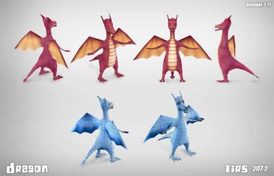 Dragon3d by buzz321