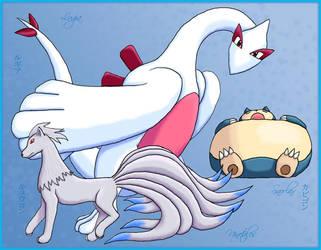 Pokemon - Friend set by hikarikirameku