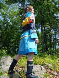 Kharg cosplay - Looking out by hikarikirameku