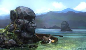 Monkey Island by thomaswievegg