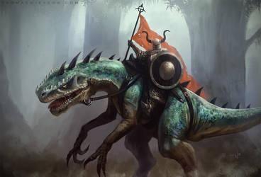 Champion of Ugroth by thomaswievegg