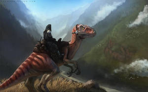 Dino rider by thomaswievegg