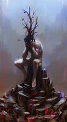 Growing Despair by thomaswievegg
