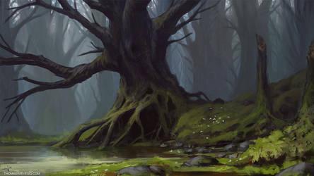 Skog by thomaswievegg