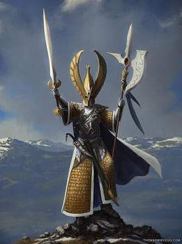 Warhammer: Phoenix Guard by thomaswievegg