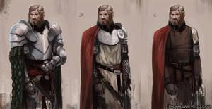 knight concept exploration by thomaswievegg