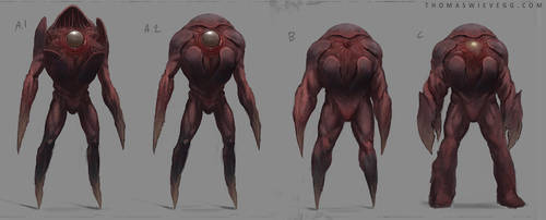 Creature concepts by thomaswievegg