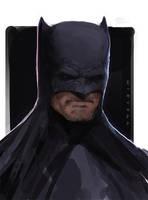 Batman by thomaswievegg