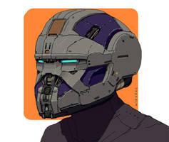 Helmet by thomaswievegg
