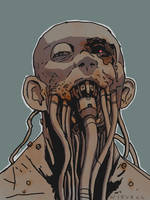 Spaghetti face by thomaswievegg