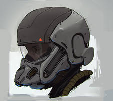 Snout helmet by thomaswievegg