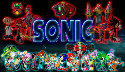 Sonic Reeboot (2016) - Group Image by Moheart7