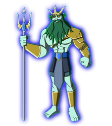 Character Reboot: The 12 Olympians - Poseidon by Moheart7