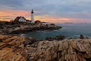 Portland Head Lighthouse by enunez