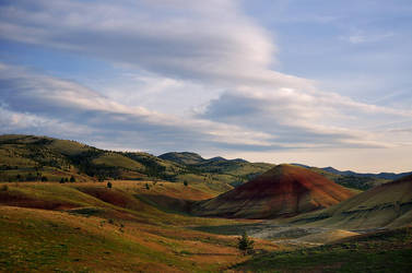 Painted Hills I by enunez