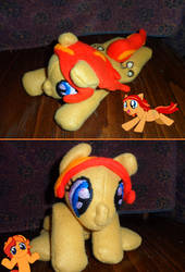 Pocket Pony: Peanut Bucker by crackle486